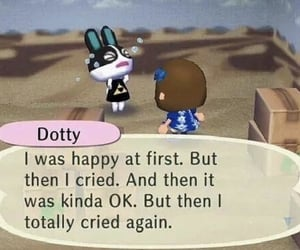 animal crossing, meme, and reaction image