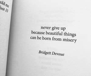 never give up and ♡ image