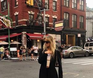 city, nyc, and fashion image