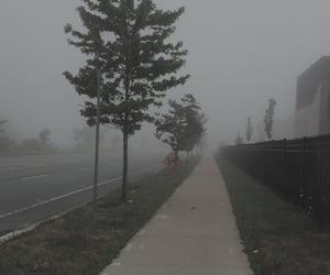 aesthetics, dark, and fog image