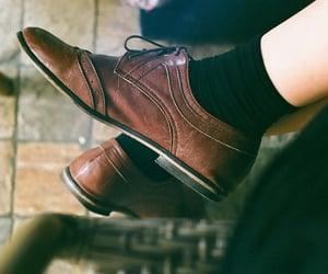 classy, fashion, and socks image