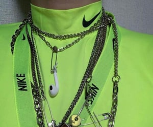 aesthetic, chains, and nike image