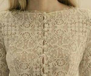 beautiful, lace, and retro fashion image