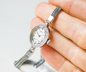 etsy, silver women watch, and chic cocktail watch image