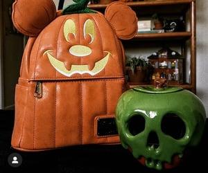 decor, disney, and pumpkin mickey image
