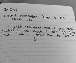 diary, quotes, and falling in love image