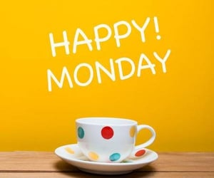 coffee, monday, and good morning image
