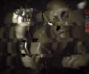 blur, creepy, and glitch image