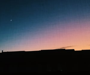 aesthetic, sunset, and vsco image