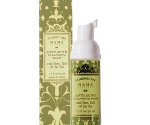 skin care and anti acne cleansing foam image