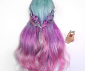 mermaid hair image