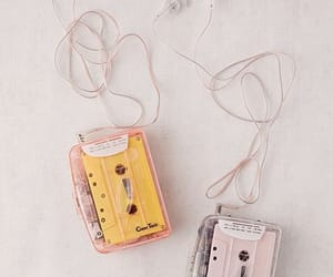 cassette, singing, and cassettes image