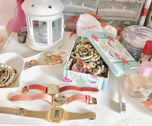 bracelets, girly, and guess image