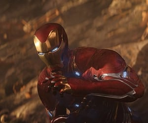 iron man, tony stark, and Avengers image