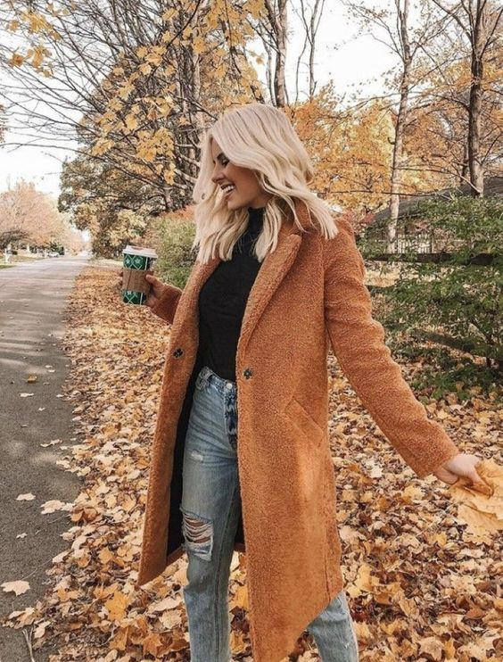 autumn, outfit, and fall image