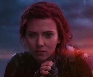 aesthetic, Avengers, and black widow image