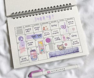 journal, organization, and planner image