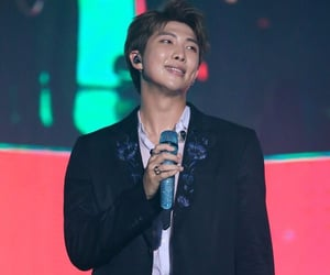 Hot, kpop, and rap monster image