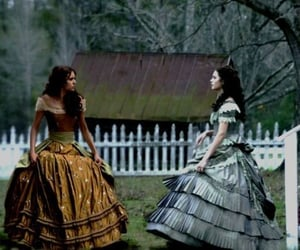 Doppelganger, dress, and the vampire diaries image