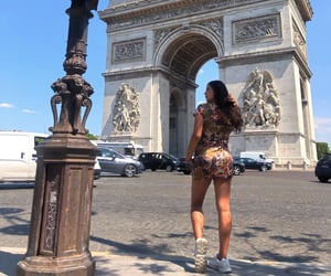 arc, brunette, and france image