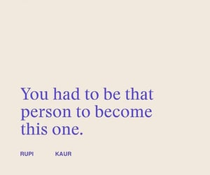 quotes, words, and rupi kaur image