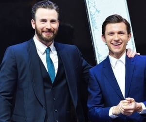 Avengers, Marvel, and tom holland image