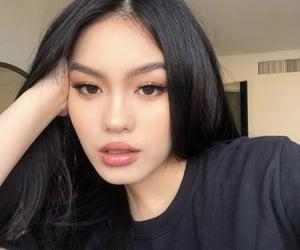 asia, asian girl, and makeup image