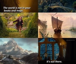 book, maps, and the hobbit image