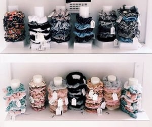 accessories, scrunchies, and hair image