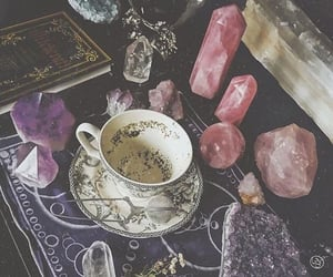 crystal, magic, and witch image