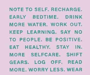 feel good, health, and note to self image