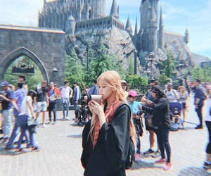 harry potter, blackpink, and kpop image