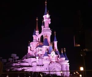 castle, disney, and park image