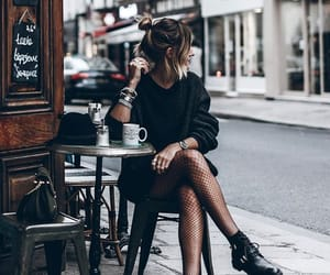 cafe, fashion, and photography image