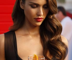 beauty, celebrity, and hair image
