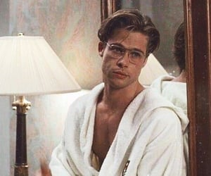 brad pitt, actor, and 90s image