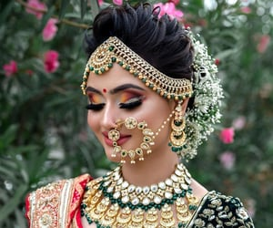 bridal, girl, and bride image
