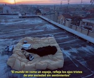 alone, ciudad, and frases image