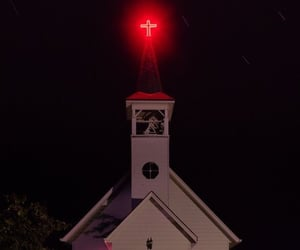 church, dark, and eerie image