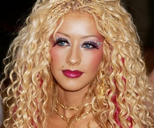 2000s, 2001, and christina aguilera image