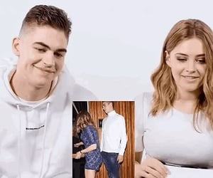 after, hero fiennes tiffin, and josephine langford image