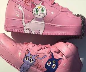 pink, anime, and sailor moon image
