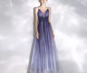 a-line, sequins, and floor-length image