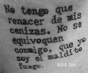 frases, fuego, and fuerza image