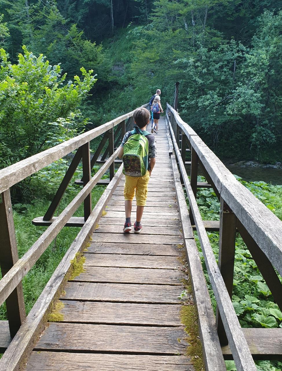 backpack, breathing, and bridge image