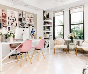 home decor, home office, and working space image