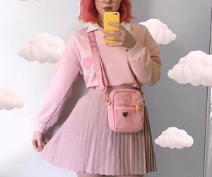 combine, fashion, and pink image
