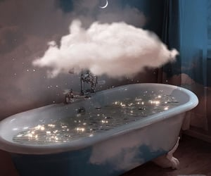 clouds, beautiful, and glitter image