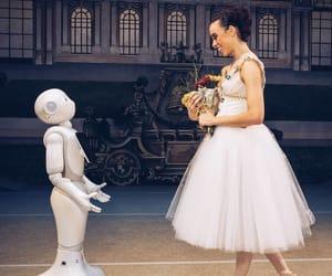 ballerina and robot image