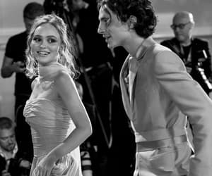couple, the king, and lily rose depp image